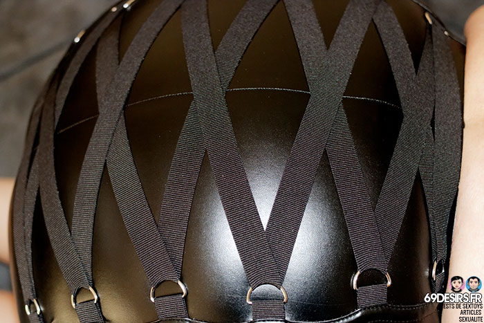 jupe simili cuir Fierce - 10