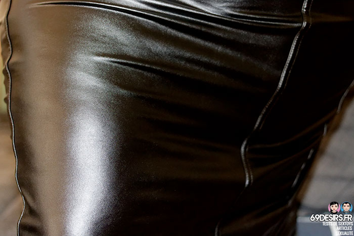 jupe simili cuir Fierce - 2