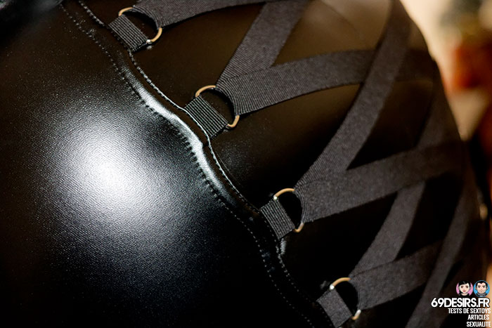 jupe simili cuir Fierce - 4