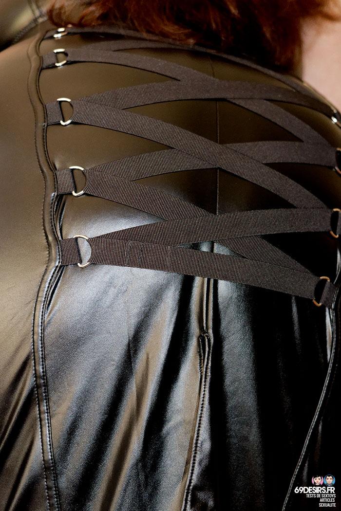 jupe simili cuir Fierce - 6
