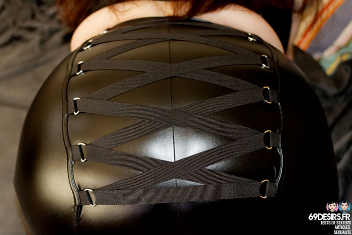 jupe simili cuir Fierce - 9
