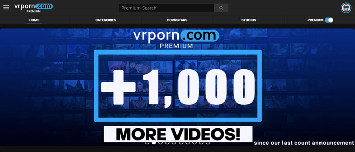 VRPorn - Website - 1