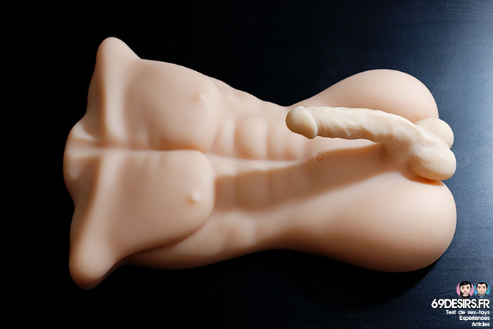 Masturbateur torse masculin Edward - 3