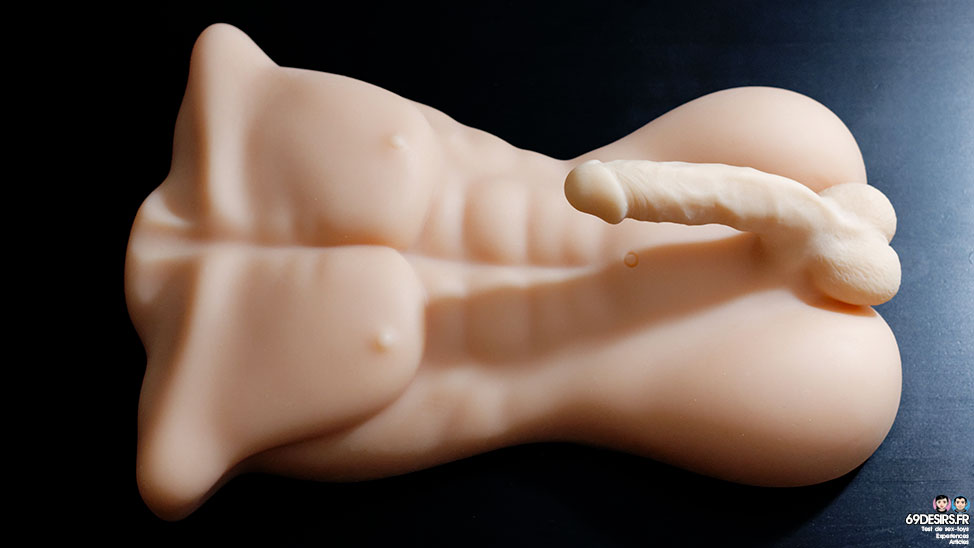 Test du masturbateur torse masculin Edward