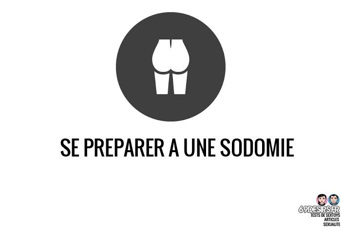 Se préparer à une sodomie